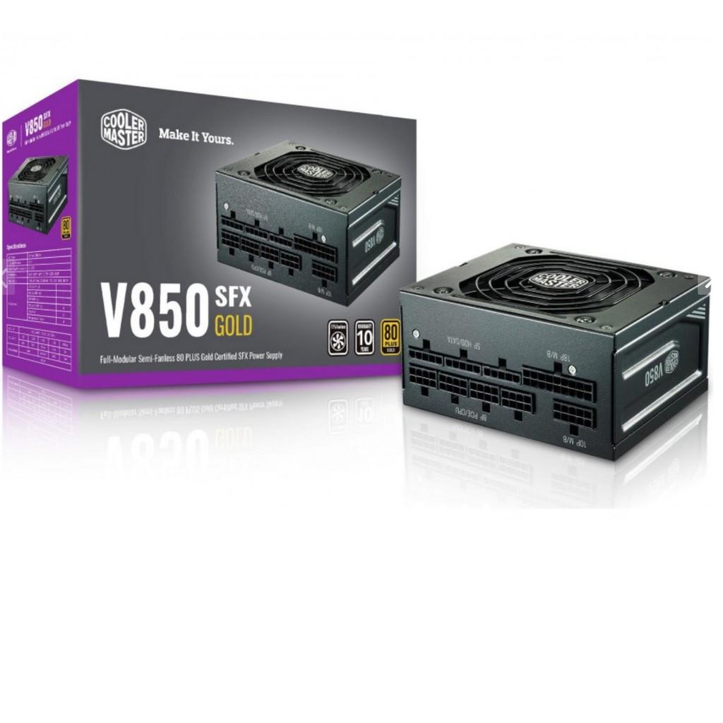 Nguồn máy tính Cooler Master V850 SFX Gold 850W full modular - chính hãng bảo hành 10 năm