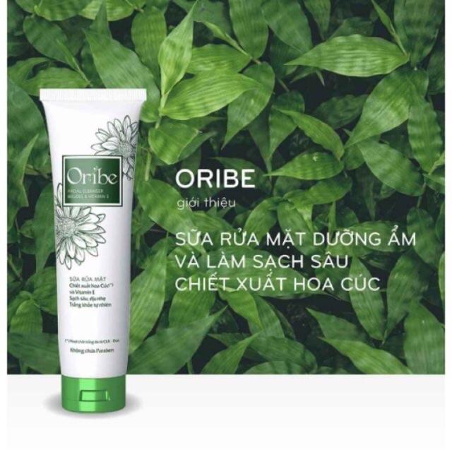 Sữa rửa mặt Oribe chiết xuất từ hoa cúc làm sạch sâu,dịu nhẹ,trắng khoẻ tự  nhiên | Shopee Việt Nam