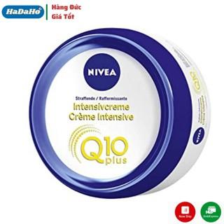 Kem NIVEA Q10 300ml, Dưỡng Da Chuyên Sâu, Cấp Ẩm Làm Săn Chắc Da – cho vùng da bụng, chân và mông săn chắc hơn
