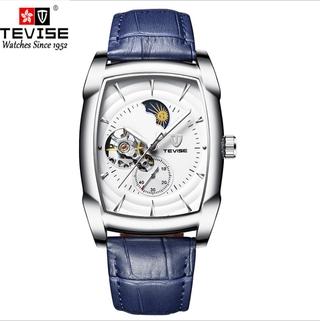 Đồng hồ dây đai bốn kim thời trang cơ khí đa chức năng chính thức của Tevise dành cho nam giới T802D