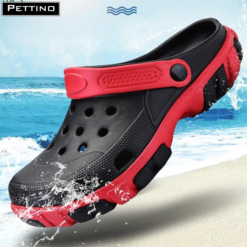 Dép sực nhựa nam thời trang siêu nhẹ đi mưa PETTINO -TT03