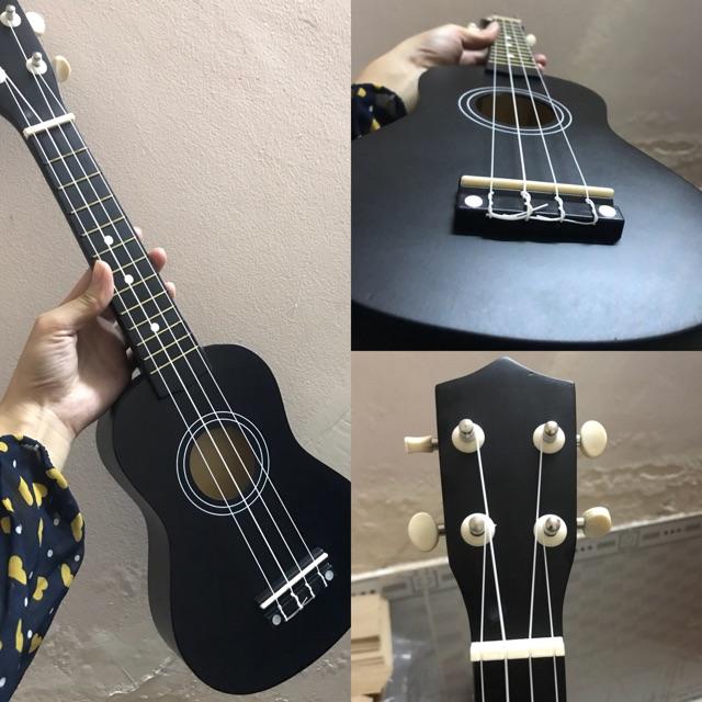 Đàn ukulele 21 màu đen