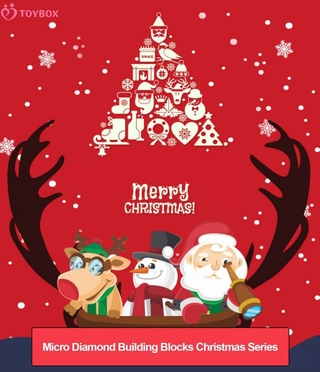 Bộ Đồ Chơi Lắp Ráp Giáng Sinh Cho Bé