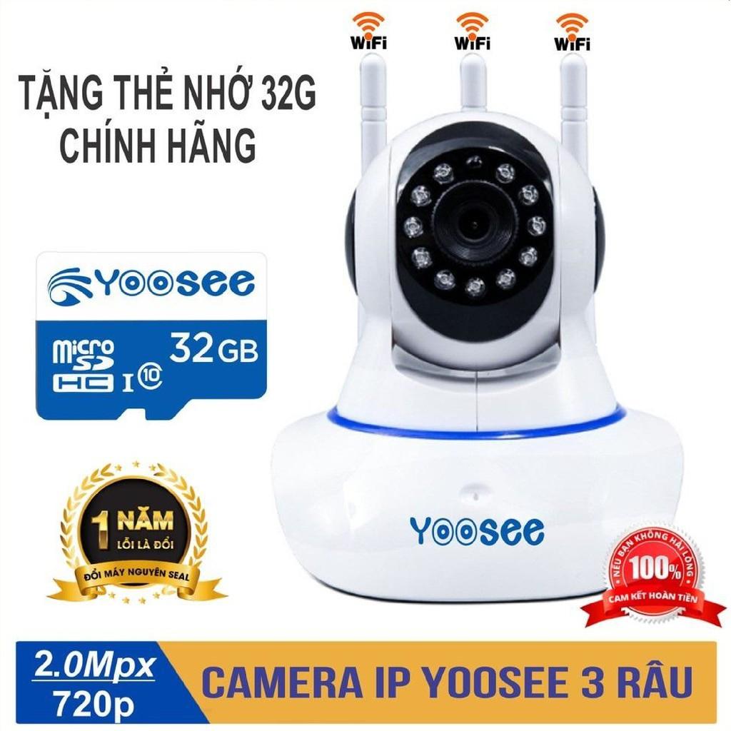 Combo Camera IP YooSee Tiếng Việt Và Thẻ Nhớ 64Gb Yoosee Chuyên Dụng
