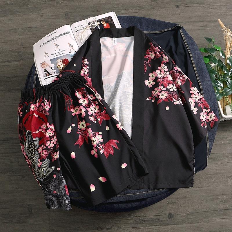 áo khoác kimono cho cặp đôi