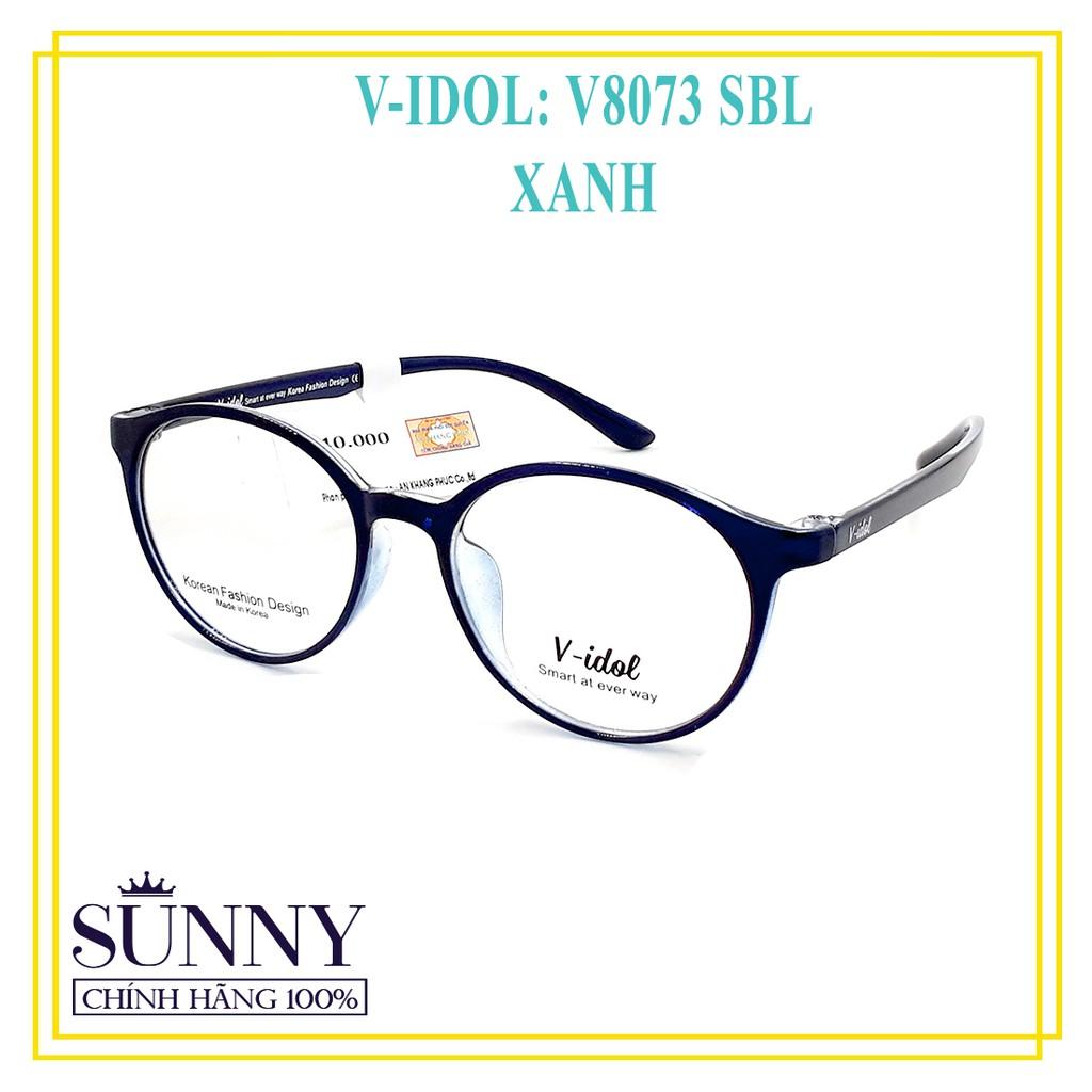 Gọng Kính Chính Hãng Vidol V8073 - 5 Màu Khác Nhau - Kèm Tem Thẻ Bảo Hành Toàn Quốc