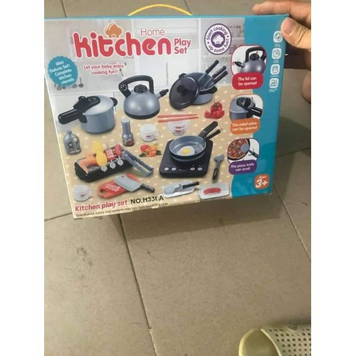 Bộ Đồ Chơi Bếp Nấu Ăn Cho Bé