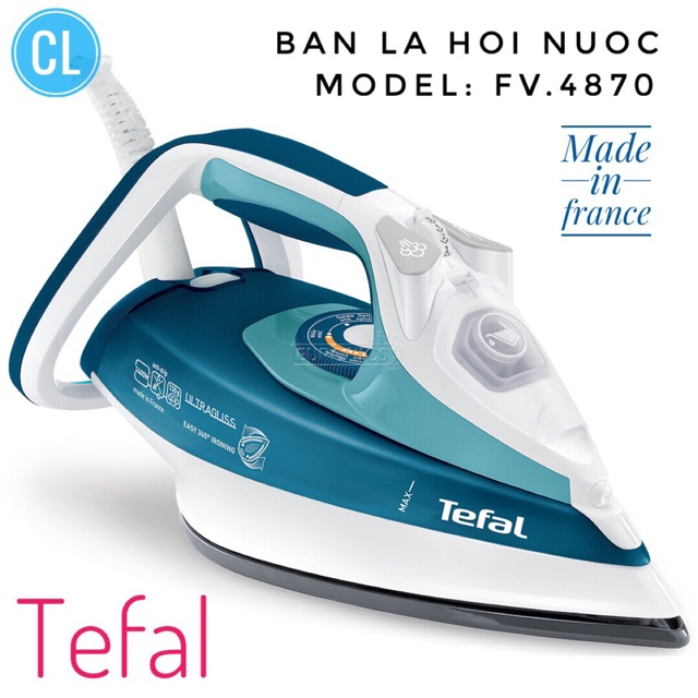 Hàng chính hãng- Bàn là TeFal fv 4870