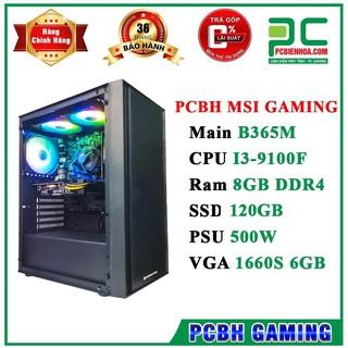 Yêu ThíchThùng máy tính CPU ( I3 9100F/ B365/ 8GB/ 120GB/ 500W/ 1660S OC 6GB )