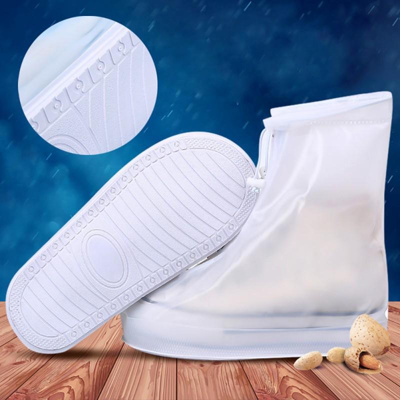 Bọc giày đi mưa chống trượt có thể sử dụng lại