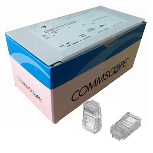 Túi 10 hạt mạng Commscope chuẩn CAT6 chân đồng chính hãng