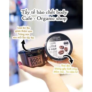 Tẩy Tế Bào Chết Body Cafe Organic 250ml - Nga thumbnail