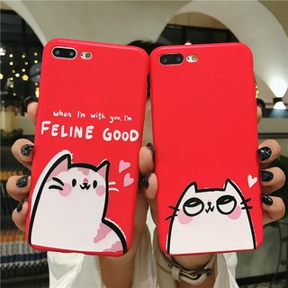 Oppo R9 R9s R11 R11s R15 cute TOM and JERRY Cartoon Cat couples full protection soft cover case