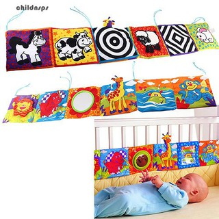 Kids Cute Animal Bed Cognize Cloth Book Baby Intelligence Development Toy