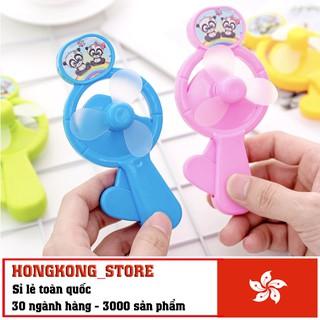 [ĐỒ CHƠI THÔNG MINH] Quạt cầm tay mini cho bé – Quạt cầm tay chạy bằng cơ nhiều màu độc đáo