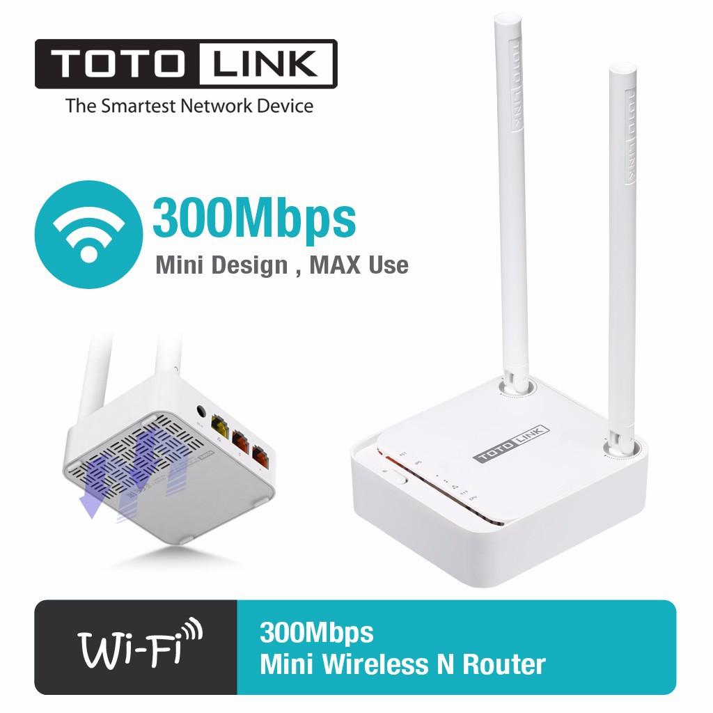 Bộ Phát Wifi Chuẩn N Tốc Độ 300Mbps TotoLink N200RE - V3 - Bảo hành chính hãng 24 tháng