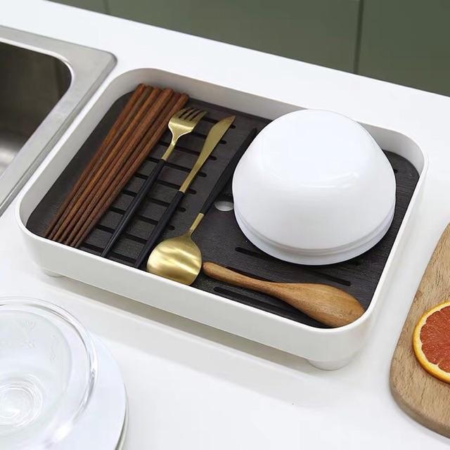 Khay úp ly phong cách hiện đại, khay trà, khay đựng cốc ly
