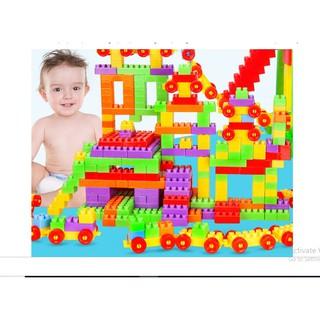Bộ xếp hình nhựa | mã 19