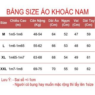 Hình ảnh Áo Khoác Nam Vải Dù Nón Rộng Thời Trang KATUSCO - A2015 (Size 48-75kg)-1