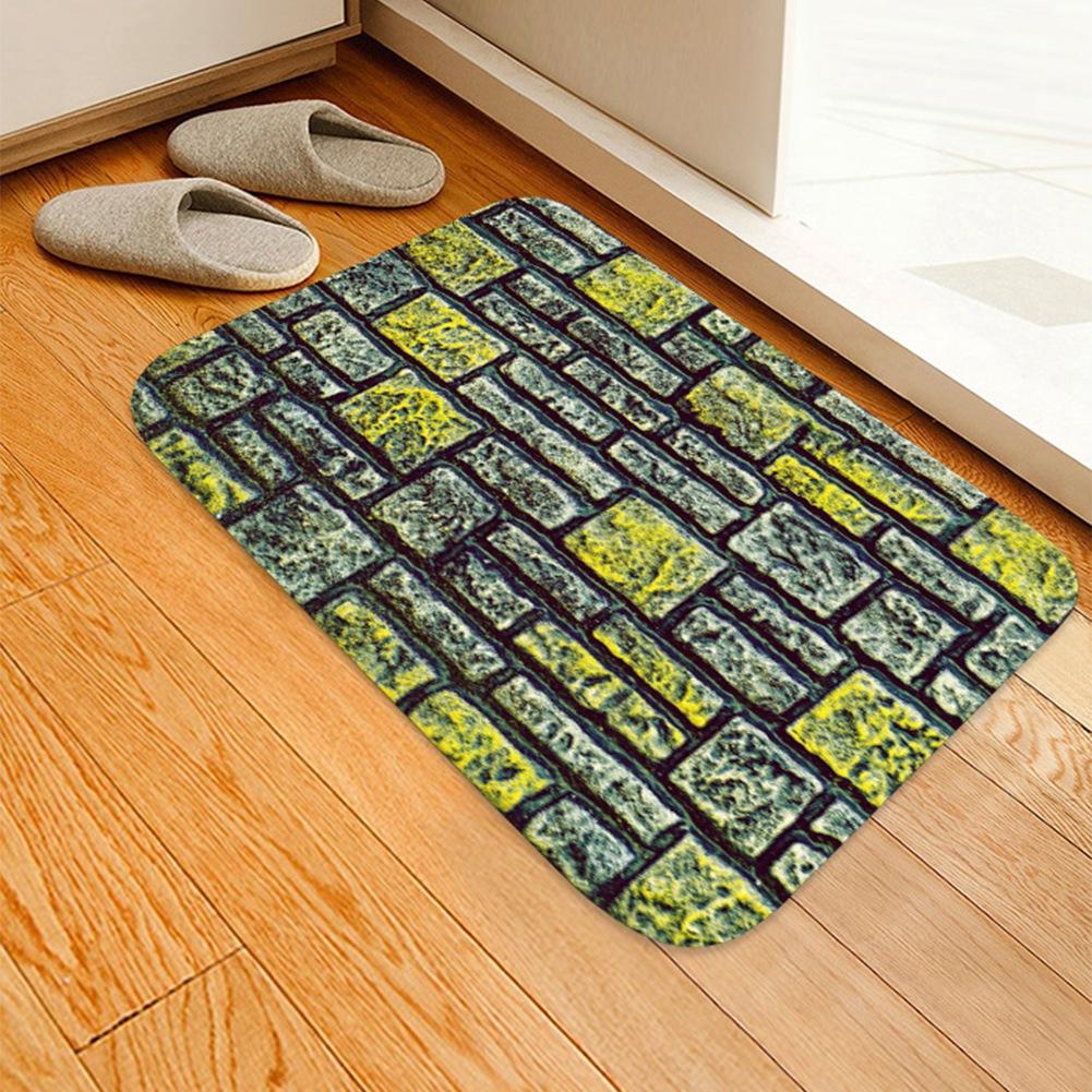 Floor Doormat Home Kitchen Rug Room Mat Decor Non-slip Living Bedroom Carpet