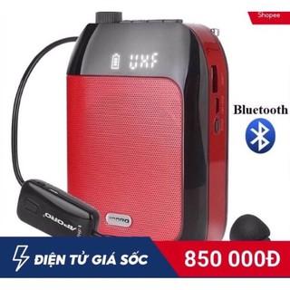 CHÍNH HÃNG [Tặng mic có dây] Máy trợ giảng Aporo T9 UHF có Bluetooth khôn thumbnail