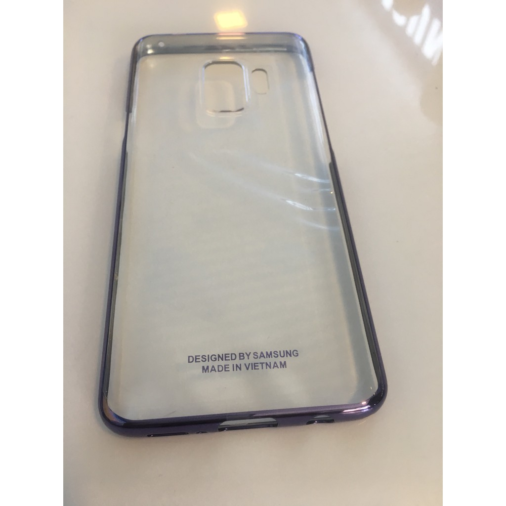 Ốp lưng Samsung Galaxy S9 clear cover