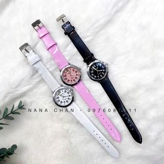 [I016] Đồng hồ thời trang trơn basic cho bé 2-6t