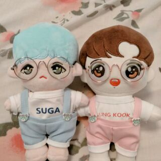 [Có lại suga/Sale rẻ/Ảnh thật] Doll BTS Bluegi Suga và Jungkook tặng kèm quà