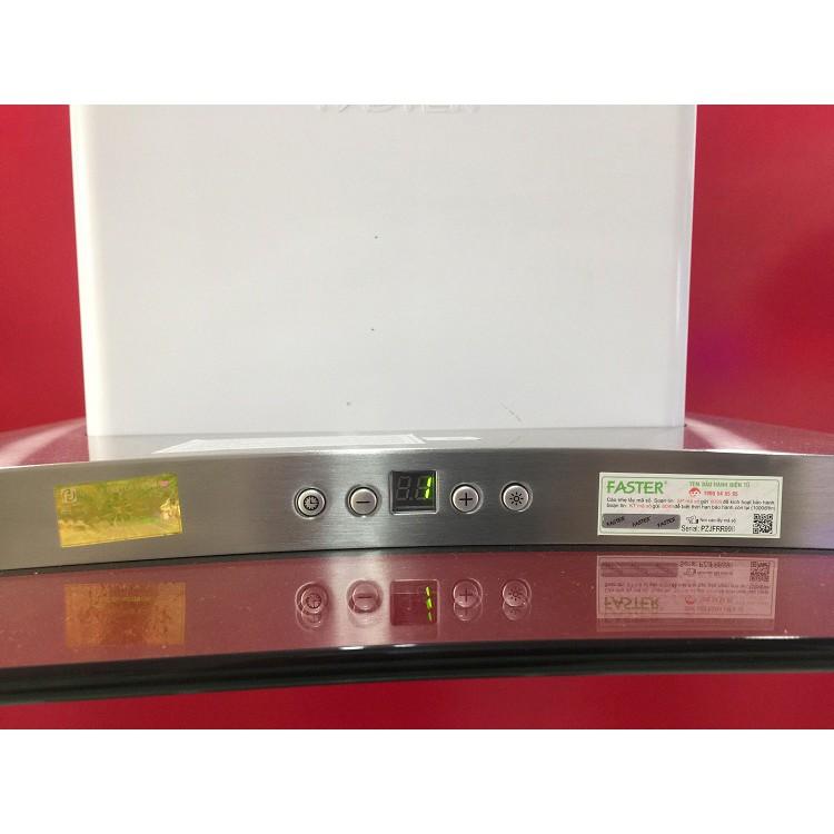 Máy hút mùi toa kính gắn tường Faster FS EN91 size 70 hoặc 90 cm, bảo hành chính hãng 2 năm