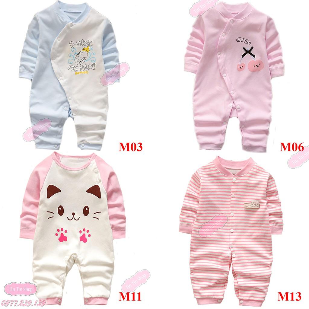 TTS170 Sleepsuit / Áo liền quần Body liền thân cho bé Trai/Gái