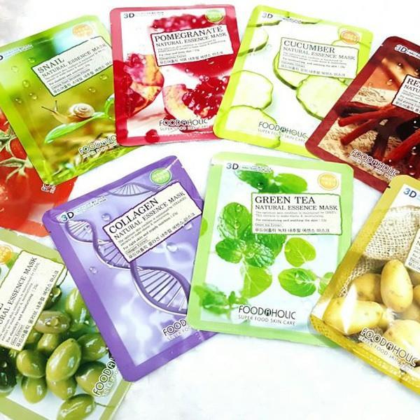 Combo 10 MIẾNG mặt nạ 3D Foodaholic chính hãng Hàn quốc - 2482372 , 889463850 , 322_889463850 , 50000 , Combo-10-MIENG-mat-na-3D-Foodaholic-chinh-hang-Han-quoc-322_889463850 , shopee.vn , Combo 10 MIẾNG mặt nạ 3D Foodaholic chính hãng Hàn quốc