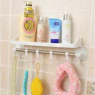 Giá để đồ phòng tắm nhà bếp hút chân không tiện ích