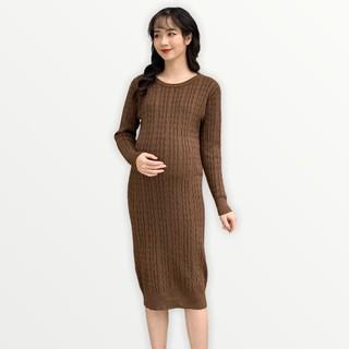 MEDYLA - Váy len sau sinh chất len siêu nhẹ cho mẹ bầu trước và sau khi sinh - VM012 thumbnail