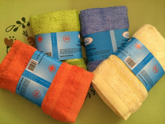 Combo 6 khăn mặt sợi tre Việt mỹ 29x47cm - 2427882 , 1697162 , 322_1697162 , 75000 , Combo-6-khan-mat-soi-tre-Viet-my-29x47cm-322_1697162 , shopee.vn , Combo 6 khăn mặt sợi tre Việt mỹ 29x47cm