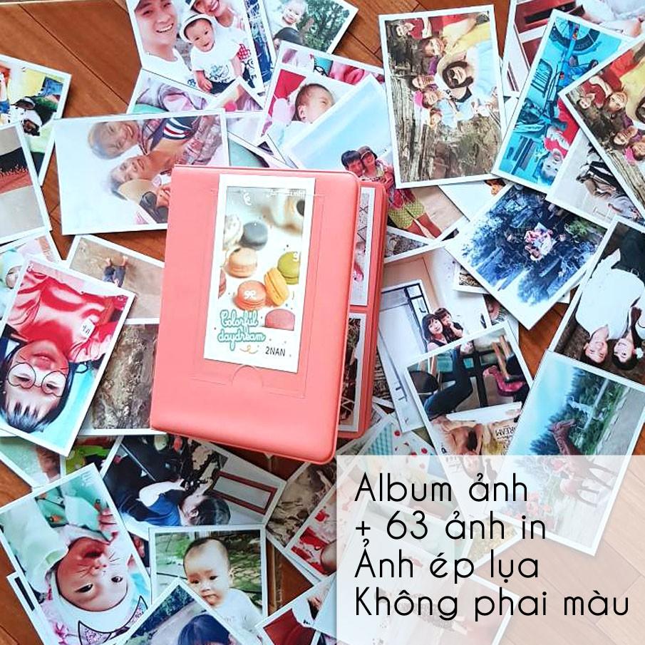 COMBO 100k 65ảnh 6x9cm ép lụa+ Album mini