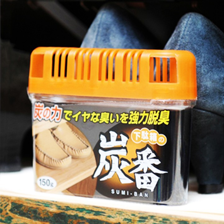 Hộp khử mùi tủ giày Kokubo than hoạt tính Nhật Bản