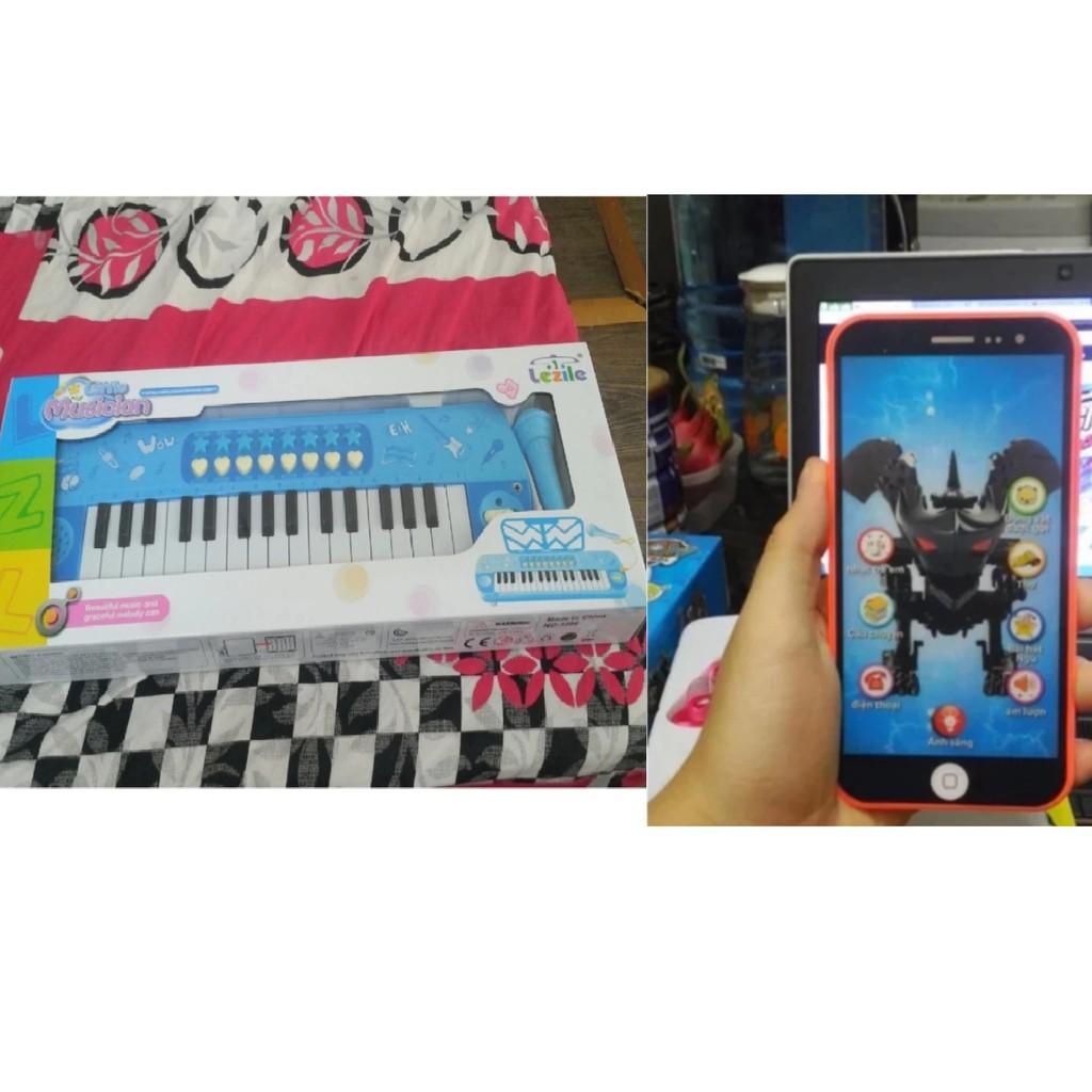 Combo bộ đồ chơi đàn piano Musician 3260 có mic và điện thoại iphone 7 cho bé - 3238027 , 525250868 , 322_525250868 , 199000 , Combo-bo-do-choi-dan-piano-Musician-3260-co-mic-va-dien-thoai-iphone-7-cho-be-322_525250868 , shopee.vn , Combo bộ đồ chơi đàn piano Musician 3260 có mic và điện thoại iphone 7 cho bé