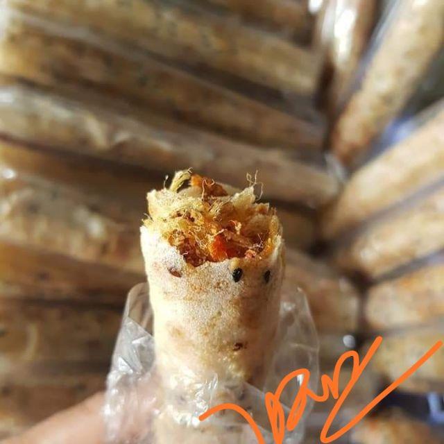Combo 20 cái Bánh Tráng Nướng Mắm Ruốc chà bông Phan Rang kòi