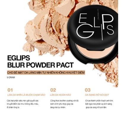 Phấn phủ dạng nén Eglips Blur Powder Pact 9g