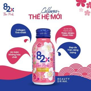 Nước uống đẹp da The Pink Collagen 82X Peptide Collagen tự nhiên Nhật Bản thumbnail