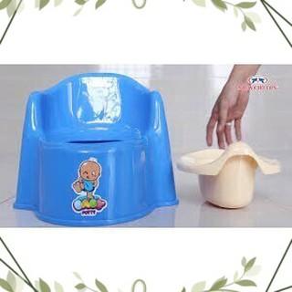 [SALE_SALE] Combo Bô vệ sinh cho trẻ em ngồi k2 nhựa chợ lớn và lục lạc