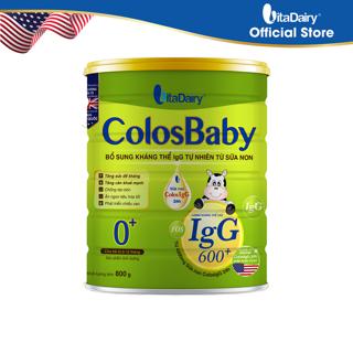 Sữa non Colosbaby 600 IgG 0+ 800g thumbnail