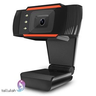 3LEDs Web Camera 12MP 720P HD Webcam USB Camera with Microphone for Computer PC Laptop