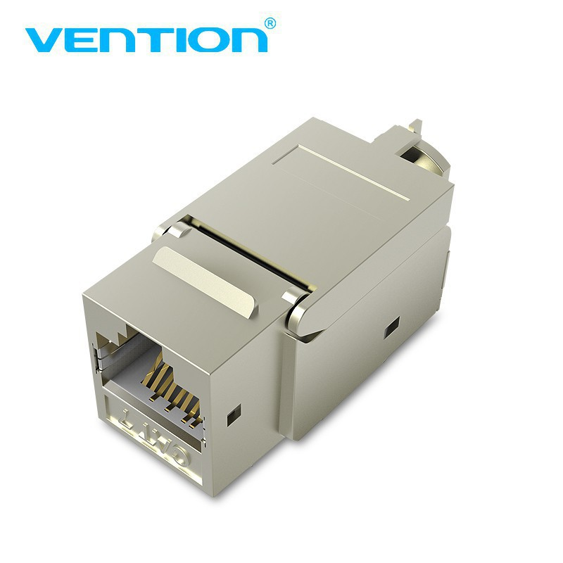 Vention CAT7 RJ45 Shielded Modular Connector new Gold-plated Cat 7 Ethernet Head