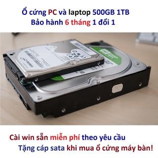Ổ cứng 500GB 1TB PC máy bàn và laptop HDD 500gb 320gb 250gb 160gb