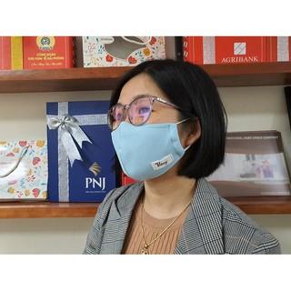 Hình ảnh Khẩu trang vải kháng khuẩn cao cấp Poêmy - Khẩu trang kháng khuẩn 2 lớp-6