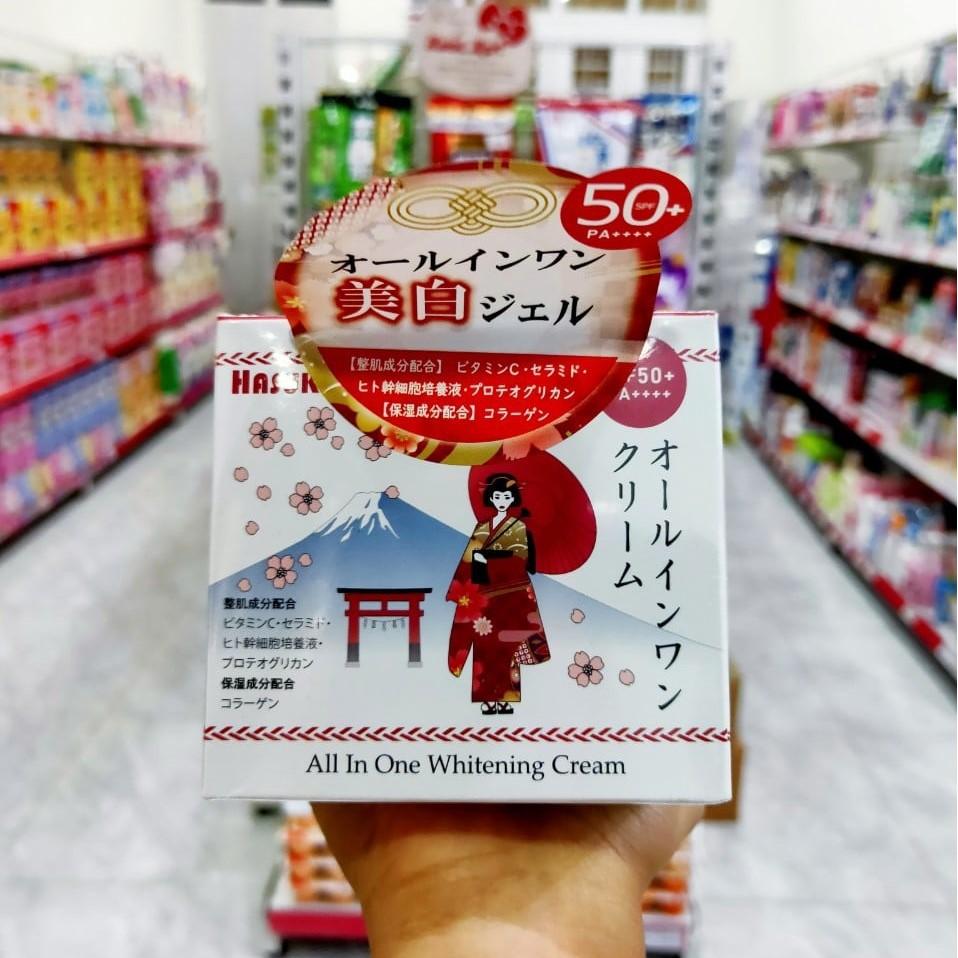 Mã 66FMCGSALE hoàn 8% xu đơn 500K] Kem u trắng Hasuko Nhật Bản 280g - Dưỡng  ẩm   ALamDep.com