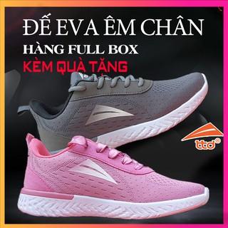 Giày Sneaker⚡Cam Kết Đúng Giá⚡Giày Thể Thao TTD Shoes V18-9 – bao check SIZE +QR Đế Eva Rất Êm Chân [Tặng Vớ]