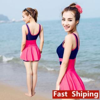 Bộ Đồ Bơi Hai Mảnh Kiểu Hàn Quốc Xinh Xắn Cho Nữ