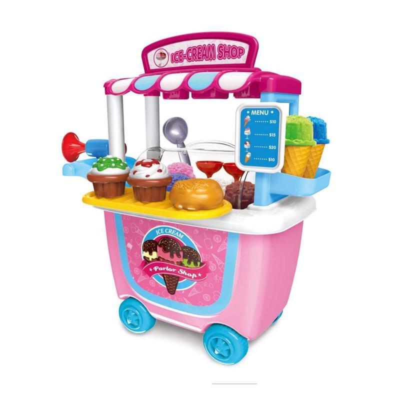 Bộ đồ chơi cửa Hiệu Bán Kem Có Bánh Xe Đẩy Cho Bé 31 chi tiết - 3459265 , 961467060 , 322_961467060 , 365000 , Bo-do-choi-cua-Hieu-Ban-Kem-Co-Banh-Xe-Day-Cho-Be-31-chi-tiet-322_961467060 , shopee.vn , Bộ đồ chơi cửa Hiệu Bán Kem Có Bánh Xe Đẩy Cho Bé 31 chi tiết